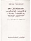 Die Christentumsgesellschaft in der Zeit von der..
