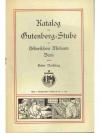 Katalog der Gutenberg Stube im historischen Muse..