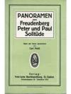 Panoramen von Freudenberg Peter und Paul Solitüde