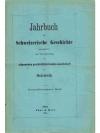 Jahrbuch für Schweizerische Geschichte 33. Band