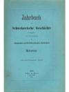 Jahrbuch für Schweizerische Geschichte 31. Band