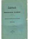 Jahrbuch für Schweizerische Geschichte 34. Band