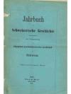 Jahrbuch für Schweizerische Geschichte 24. Band