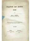 Tagebuch aus Italien 1849
