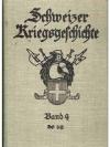 Schweizer Kriegsgeschichte. Band 4