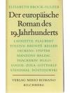 Der europäische Roman des 19. Jahrhunderts