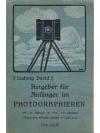 Ratgeber für Anfänger im Photographieren