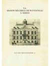 La Maison Béatrice de Watteville à Berne
