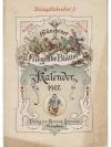 Münchener fliegende Blätter Kalender 1917