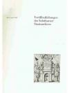 Veröffentlichungen des Solothurner Staatsarchives