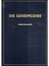 Die Geheimlehre. Indexband