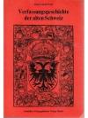 Verfassungsgeschichte der alten Schweiz