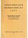 Urschweizer Bundesbrief 1291