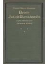 Briefe Jakob Burckhardts