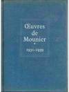 OEUVRE DE MOUNIER