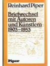 Briefwechsel mit Autoren 1903-1953