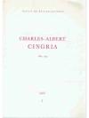 Charles-Albert Cingria 1883-1954