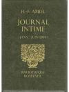 Journal intime Janv.-Juin 1854