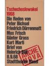 Arche - Tschechoslowakei 1968