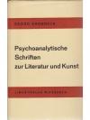 Psychoanalytische Schriften zur Literatur und Ku..