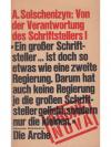 Alexander Solschenizyn: Von der Verantwortung de..