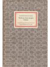 Rilke: An einen Dichter