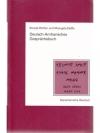 Deutsch-Amharisches Gesprächsbuch