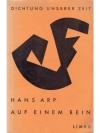 Hans Arp, Auf einem Bein
