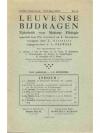 Leuvense Bijdragen 1956/57 Nrs 1.-2