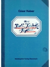 César Keiser, aus Karli Knöpflis Tagebuch