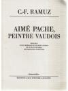 Aimé Pache, Peintre Vaudois