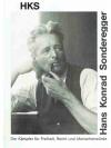 Hans Konrad Sonderegger 1891-1944