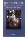 Mann und Frau, unter einem Pflaumenbaum stehend