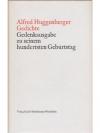 Alfred Huggenberger Gedichte