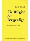 Die Religion der Bergpredigt