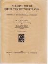 Inleiding tot de Studie van het Nederlands