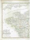 Druckgraphik: - Der nord-westliche Theil von Fra..
