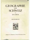 Geographie der Schweiz. Regiesterband