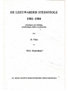De Leeuwarder Stedstiole 1502-1504