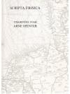 Scripta Frisica - Tinkbondel foar Arne Spenter