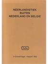 Neerlandistiek Buiten Nederland en Belgie