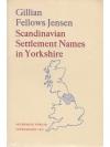 Scandinavian Settlement Names in Yorkshire