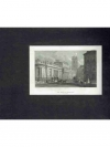 Druckgraphik: - Die Bank von England in London