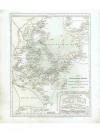 Druckgraphik: - Karte von dem Deutschen Meere