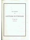Zum Andenken an Gottlieb Duttweiler