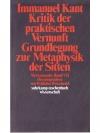 Kritik der praktischen Vernunft, Grundlegung zur..