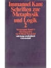 Grundlegung zur Metaphysik zu Logik 2