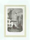 Druckgraphik: - Alte Häuser in St. Gallen