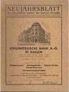 71. Neujahrsblatt. Die Goldschmiedewerke der Kat..