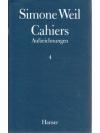 Cahiers - Aufzeichnungen 4
